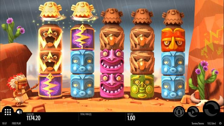 turning toems slot review